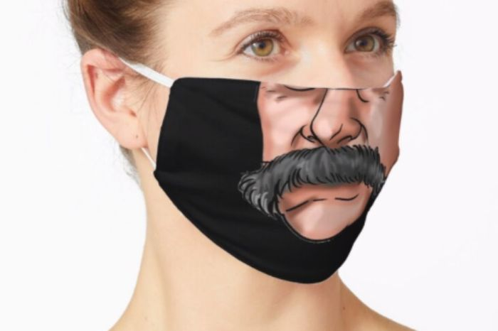 Be Sam Elliott for a Day With This Hilarious Mustache Face Cover