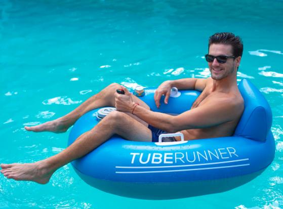The Motorized Pool Tube