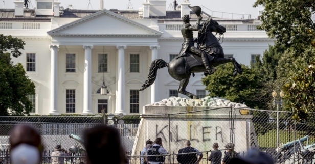 Trump Says He'll Issue Executive Order to Protect Statues from Being Torn Down