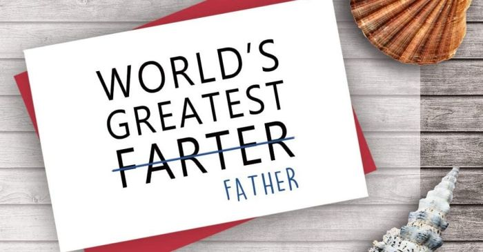 8 Funny Father's Day Cards That Will Make Pops Laugh!