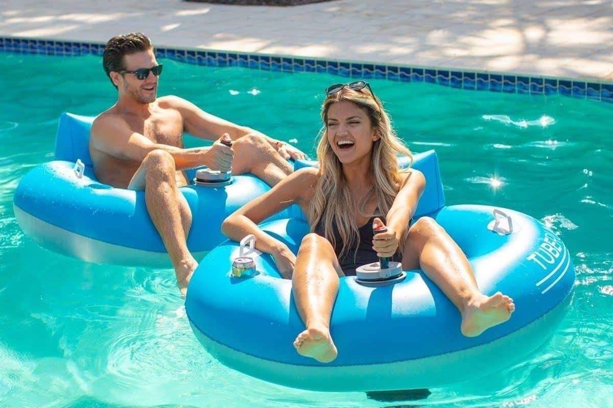motorized pool tube