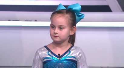 8-Year-Old Born Without Legs Competes in Gymnastics Sports Festival