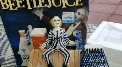Beetlejuice Cookie Jar