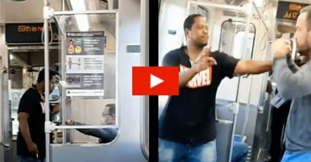Chicago Nurse Fights With Train Passenger Ranting About COVID-19