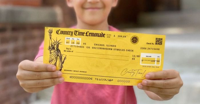 "Country Time Offers Children ""Littlest Bailout Relief Fund"" for COVID-Affected Lemonade Stands"