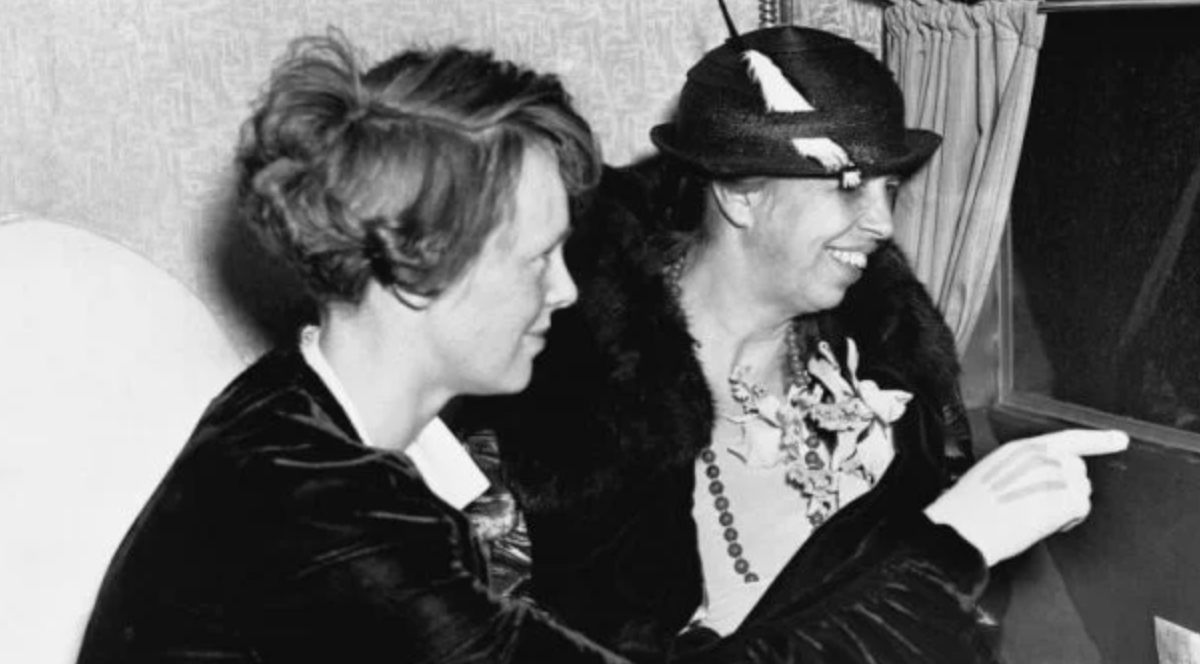 Eleanor Roosevelt Amelia Earhart