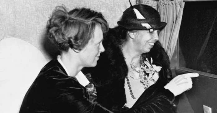 Eleanor Roosevelt and Amelia Earhart Were Close Friends