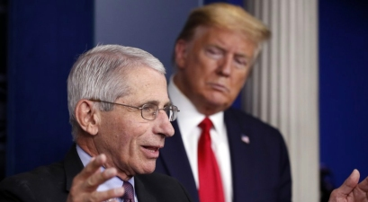 Trump Seeks to Blame Dr. Fauci for Coronavirus Disaster as Deaths Mount