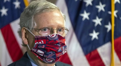 McConnell Trump Face Mask