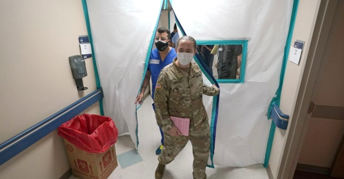 Military Medics Deployed in California and Texas as Coronavirus Surges