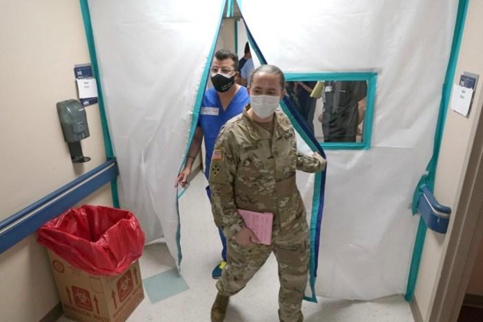 Military Medics Deployed in California and Texas as Coronavirus Surges