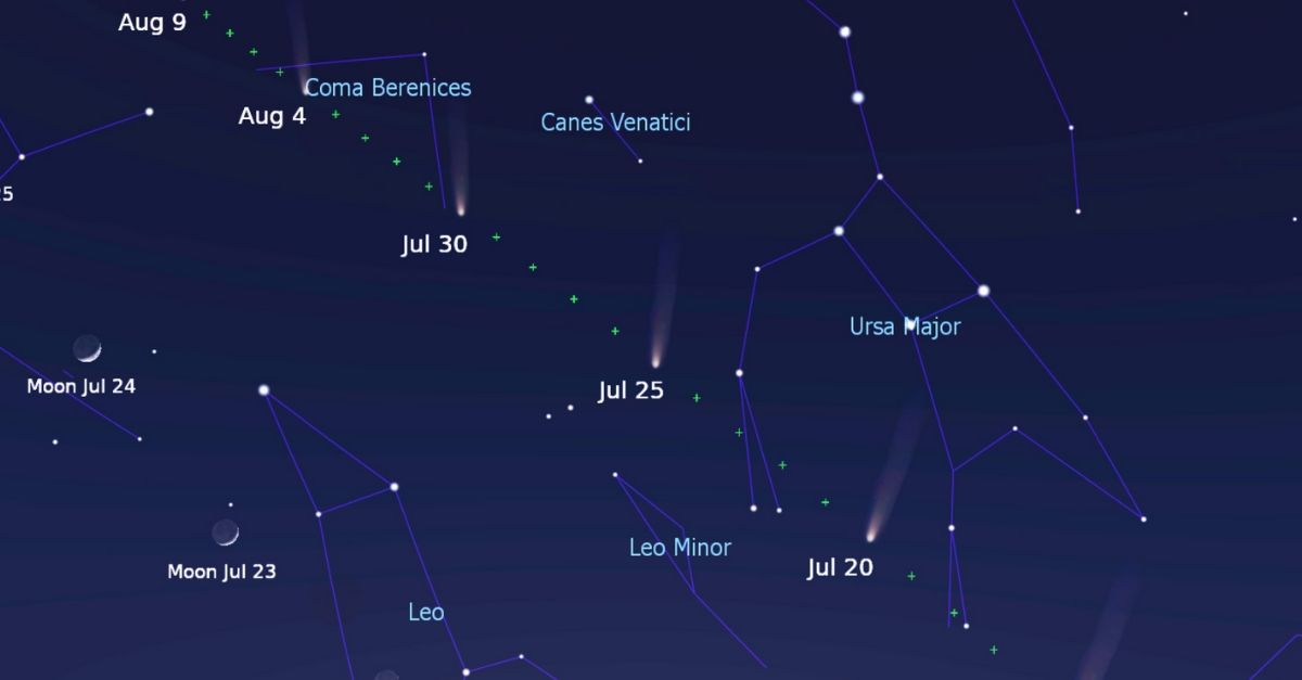 How to See the Moon and Five Planets Without a Telescope on July 19
