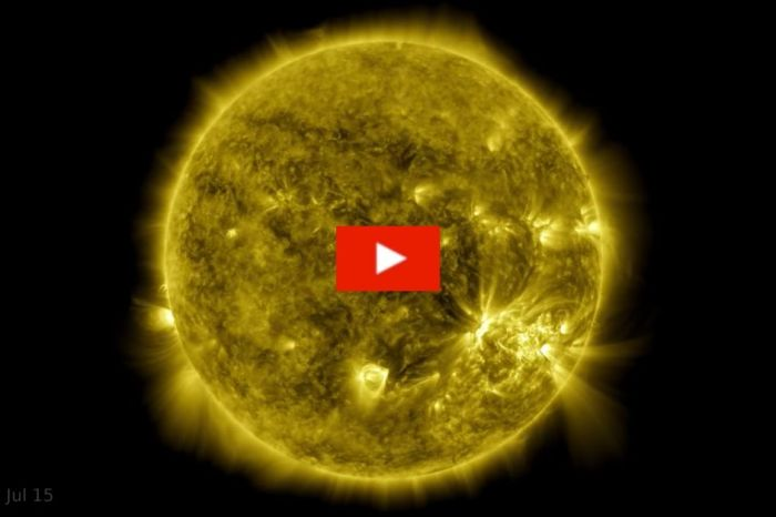 NASA Captures 10-Year Time-Lapse Video of the Sun