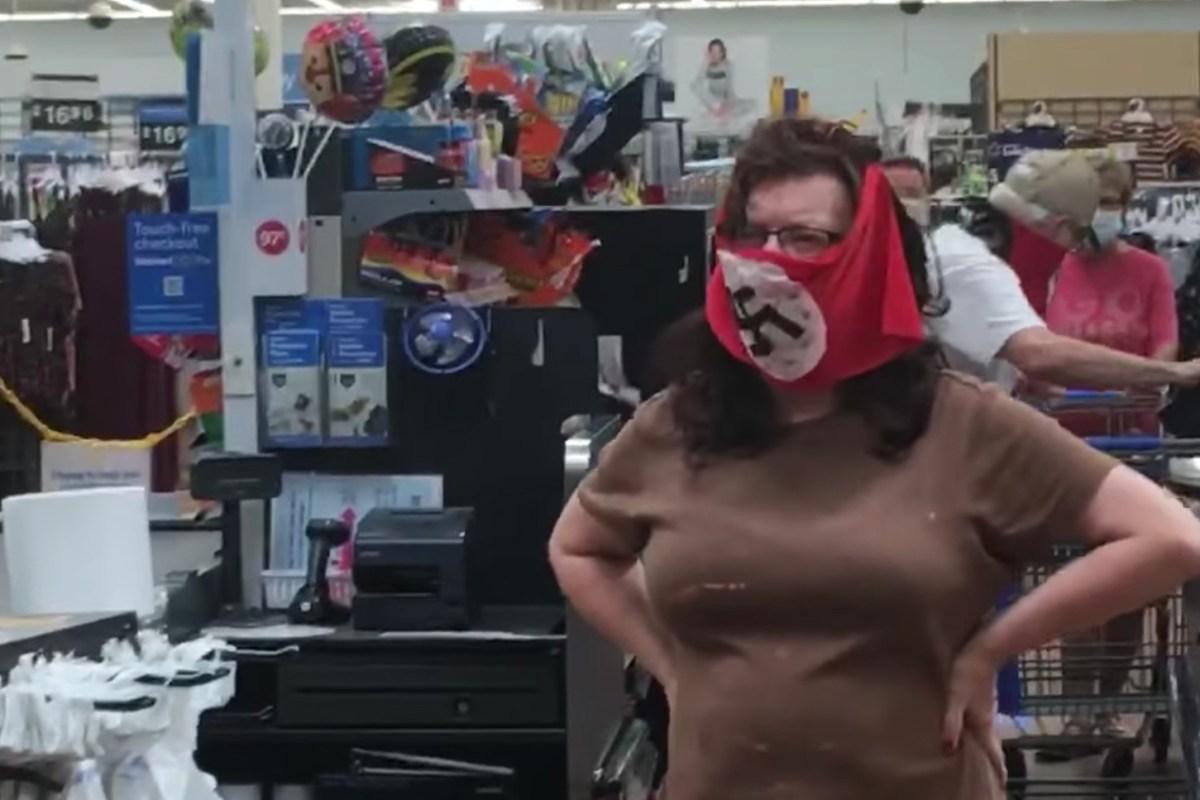 Nazi Swastika Walmart