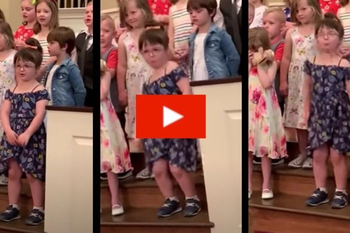 Preschooler Hilariously Breaks it Down on Stage During Her Graduation Ceremony