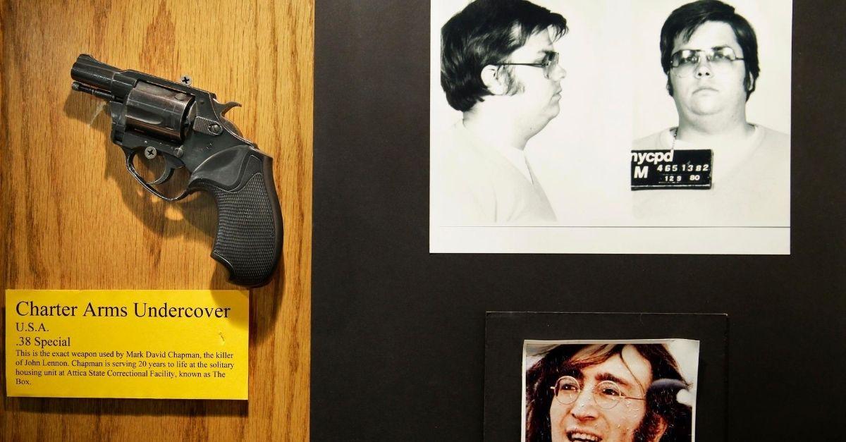 John Lennon's Killer Mark David Chapman Has Been Denied Parole 11 Times