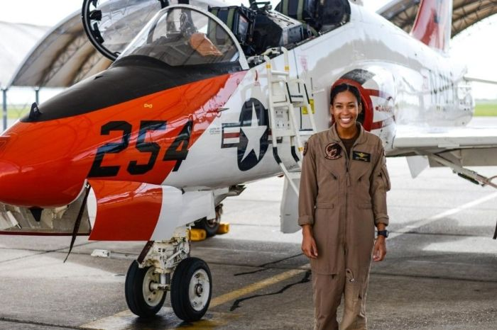 US Navy's 1st Black Female Tactical Air Pilot Set To Get Her Wings