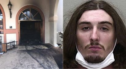 Man Crashes into Church, Sets it on Fire With Parishioners Inside