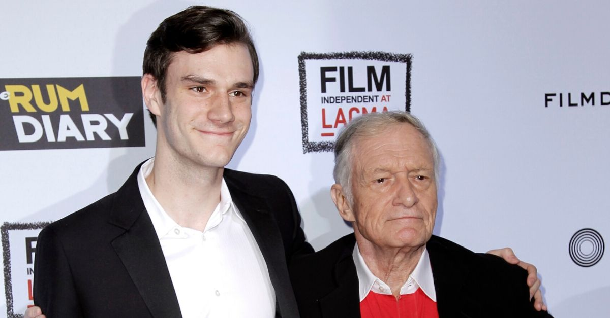 Hugh Hefner's Son Announces California State Senate Bid
