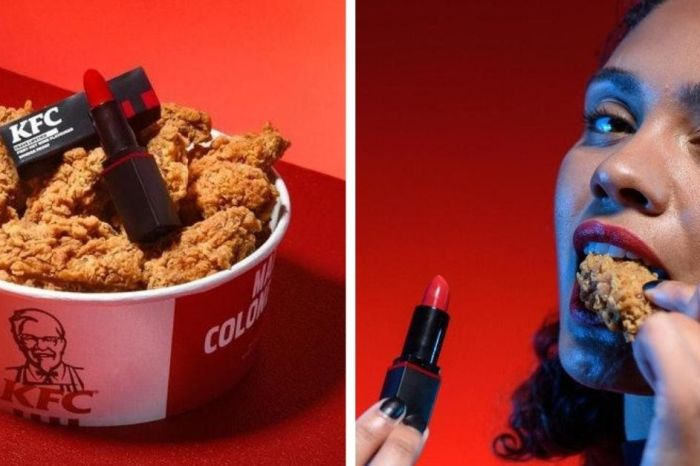 KFC Has Launched a Lipstick That Tastes Like Hot Wings Chicken