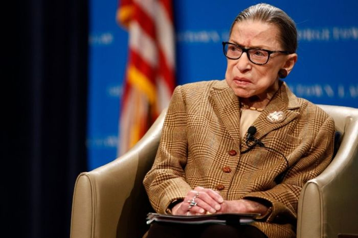 Justice Ruth Bader Ginsburg Has Been Undergoing Chemotherapy for Recurrence of Cancer