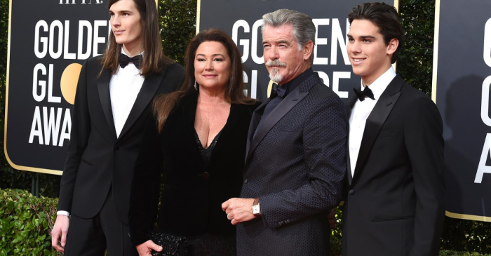 Actor Pierce Brosnan Has a Big, Beautiful Family