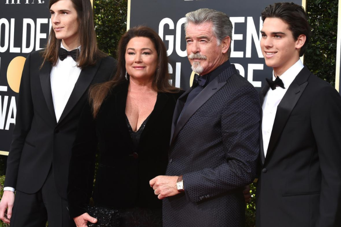 Actor Pierce Brosnan Has a Big, Beautiful Family