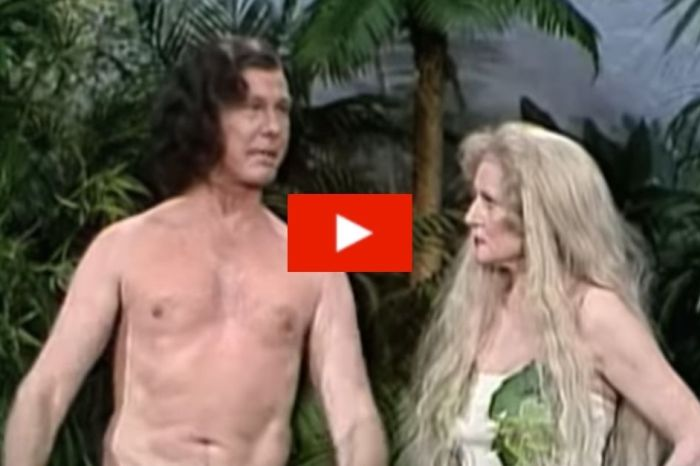 Remember When Betty White and Johnny Carson Portrayed Adam and Eve?