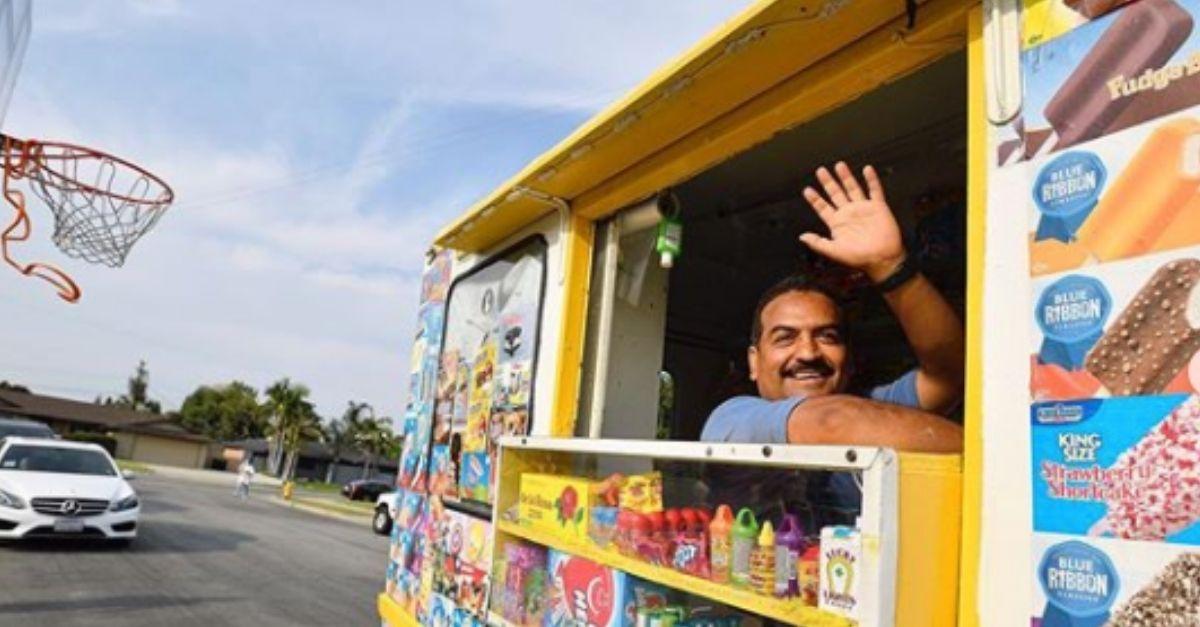 California Community Raises over $10,000 for their Ice Cream Man's Medical Bills