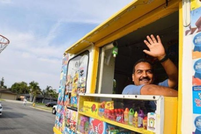 California Community Raises over $10,000 for their Ice Cream Man's Medical Bills
