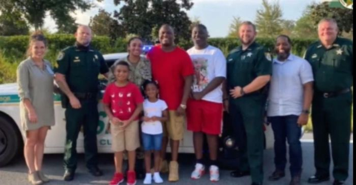Deputies Fake Traffic Stop to Surprise a Family with a Military Homecoming