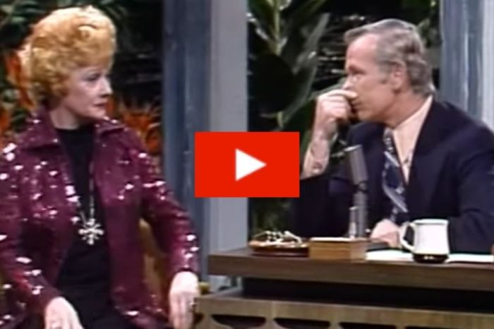 Remember When Johnny Carson Asked Lucille Ball When She Lost Her Virginity