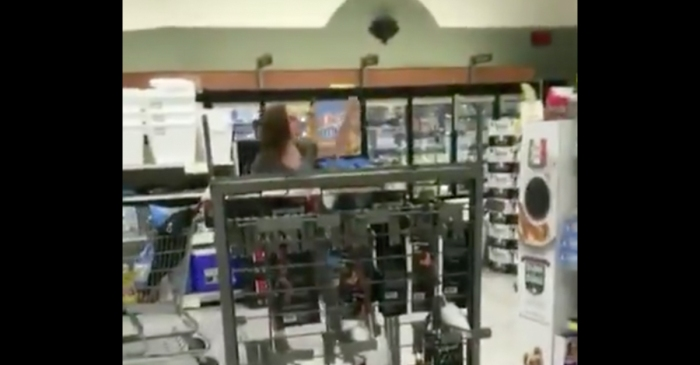 Woman Furious About Store Mask Policy Filmed Going Berserk on Grocery Store Employee