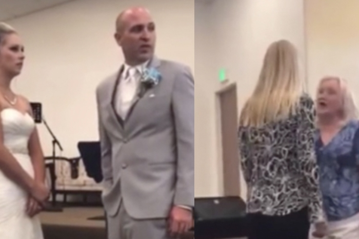 Mother-in-Law Interrupts Bride in Middle of Her Wedding Vows, Screams at Her