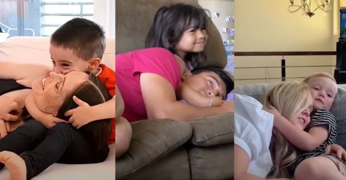 "Parents are Now Trying the ""Cuddle Your Toddler Challenge"""