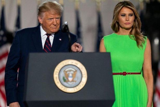 The Internet is Convinced Melania Trump Hates Donald Trump
