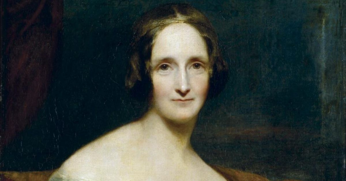 "Mary Shelley Wrote Frankenstein As Part Of A ""Ghost Story Challenge"""