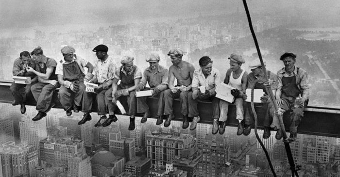 The Story Behind The Iconic 'Lunch Atop A Skyscraper' Photo
