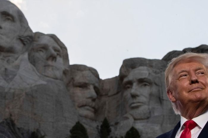 Donald Trump Wants to Add His Face to Mount Rushmore