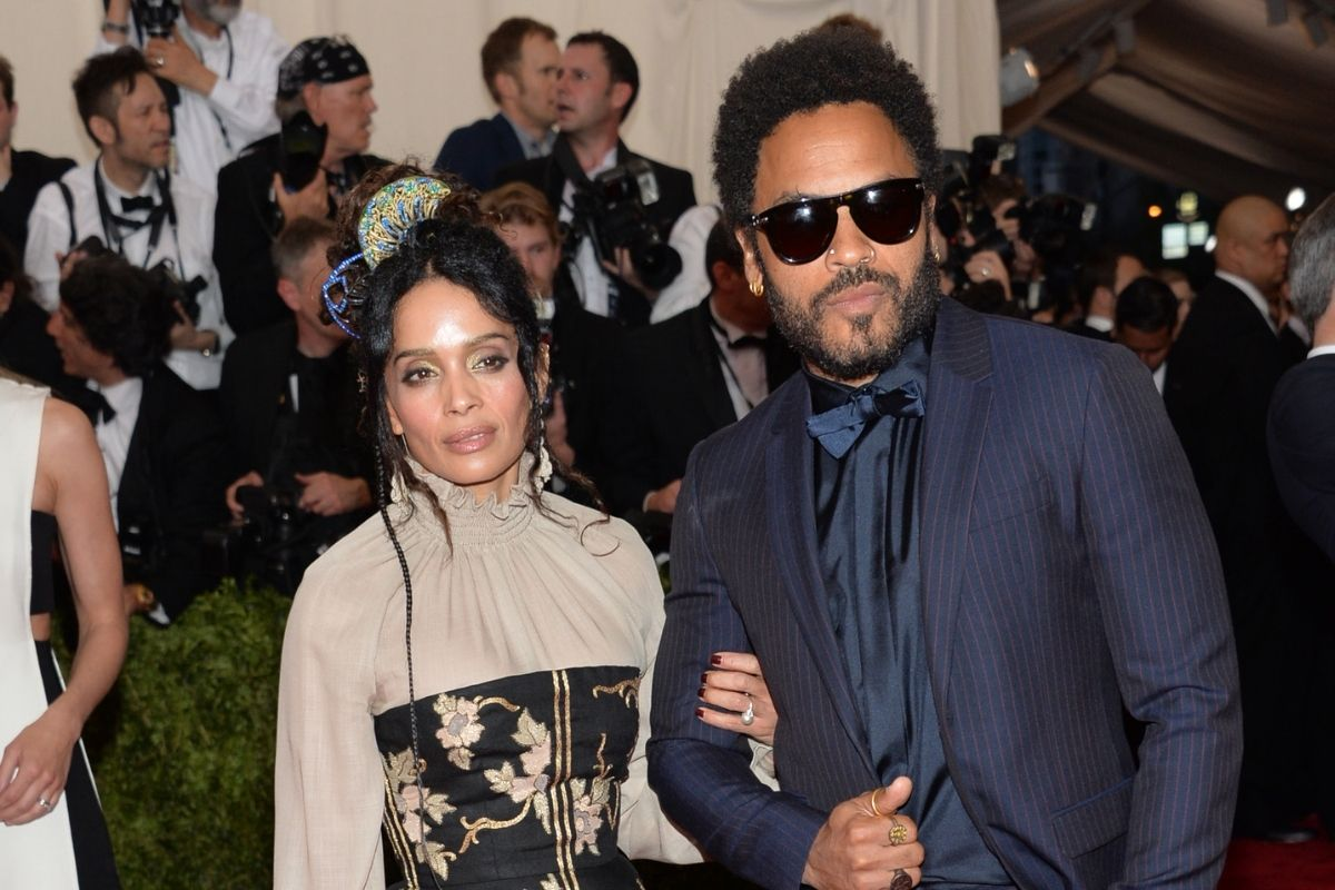 Lenny Kravitz and Lisa Bonet May Have Split, But They're Still Family