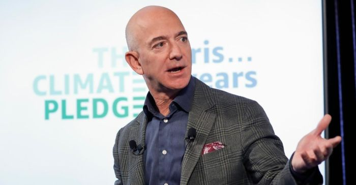 Amazon CEO Jeff Bezos Breaks Record as Net Worth Tops $200 Billion