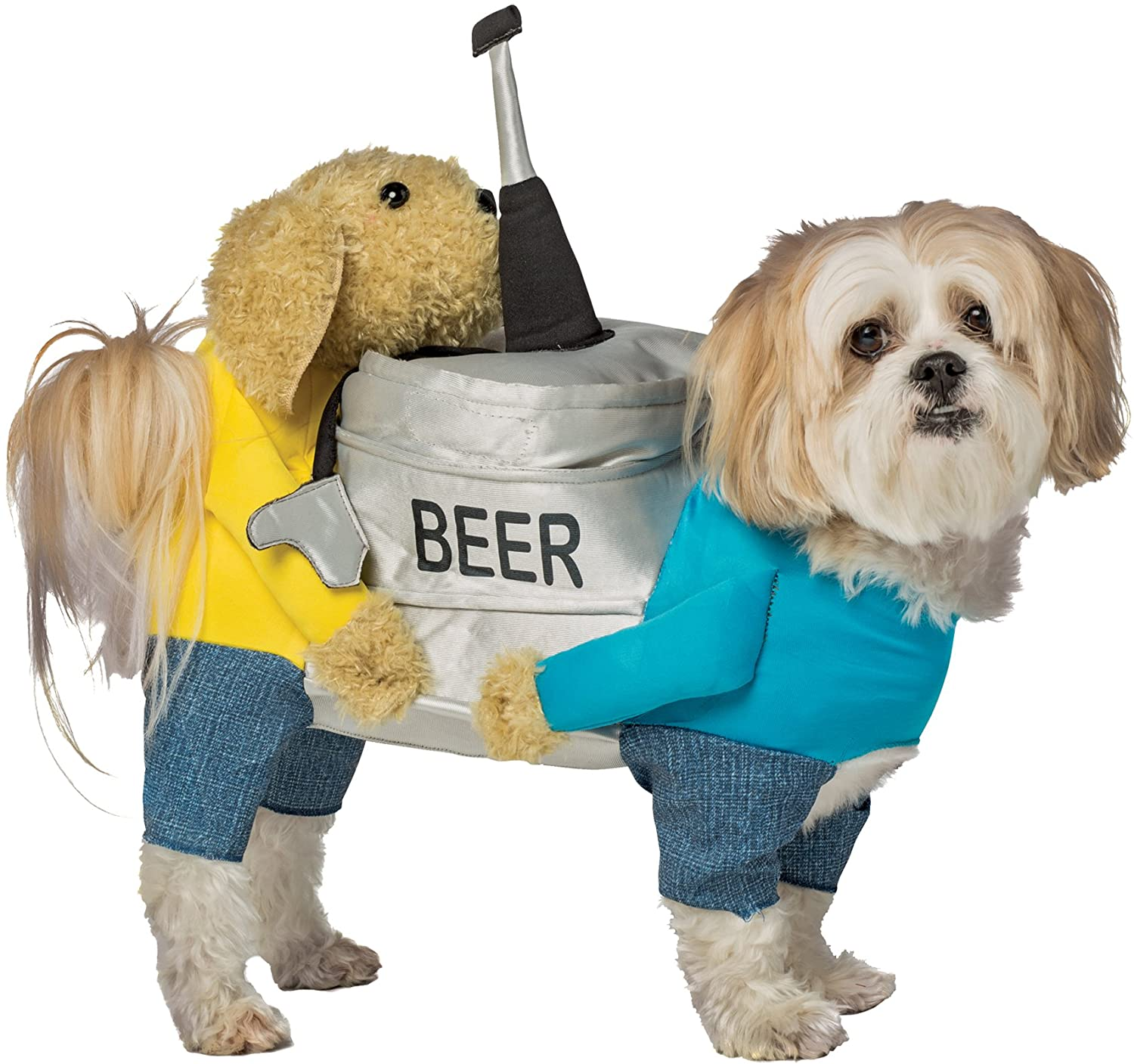 Rasta Imposta Beer Keg Outfit Funny Theme Party Fancy Dress Halloween Pet Dog Costume