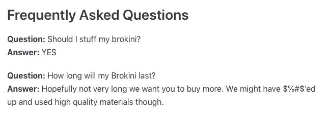 brokini