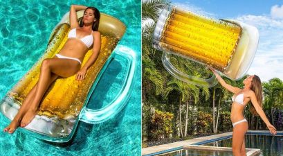beer mug float