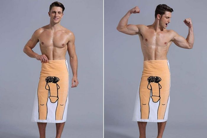 The 'Penis Towel' Will Turn Heads at the Beach