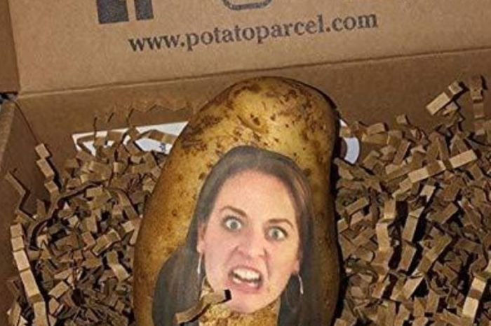 This Company Will Mail Your Friends a Potato With Your Face on It