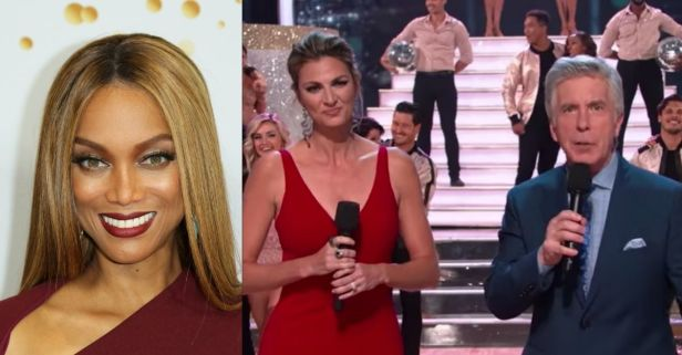 Former 'DWTS' Hosts Tom Bergeron and Erin Andrews Comment on Being Fired From the Show