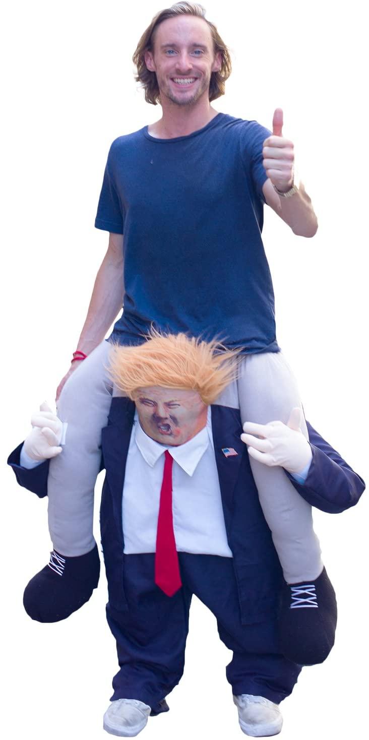 FJERR Ride-on Trump Halloween Costume