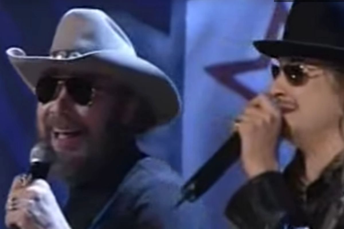 Hank Williams Jr. and Kid Rock Jamming Out Together Is An Unexpected Classic