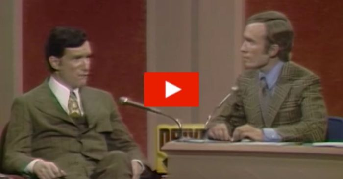 Flashback: Hugh Hefner Defends Playboy Magazine's Intentions on 'The Dick Cavett Show'